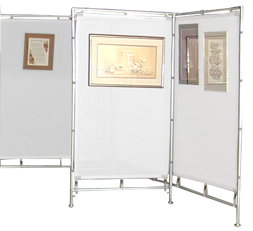FW Mesh Booth Frame