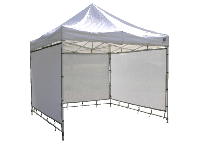Full width panels attach directly to the top frame of your pop up canopy and to the legs at either side. A set of three panels creates wrap-around display ...  sc 1 st  Flourish Canopies and Display Walls & Flourish Canopies and Display Walls